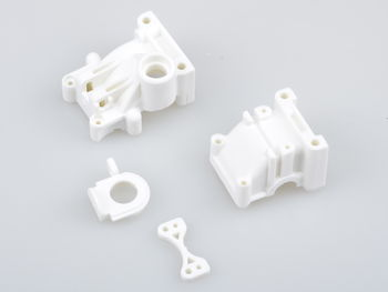 White Rear Gearbox by JQRacing